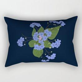 Stephanie's Flowers Rectangular Pillow