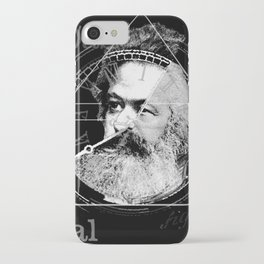 The Time of Marx Dark iPhone Case