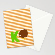 k for kiwi Stationery Cards