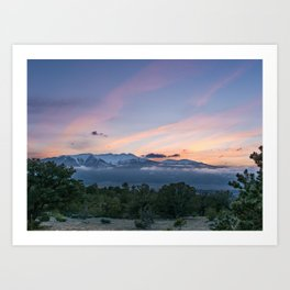 Nightfall Cloud Nine Art Print