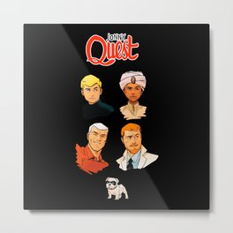 Jonny Quest - TV Shows Metal Print