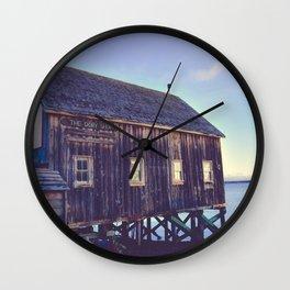 Canadian Coastal Landscape Wall Clock