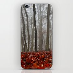 Into the woods #fall iPhone & iPod Skin