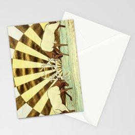Elk Battle Stationery Cards