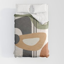 Modern Abstract Shapes 12 Comforters