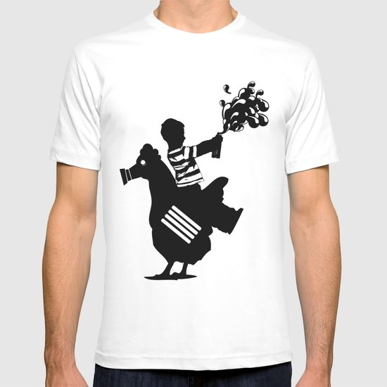 Riding Rooster  T-shirt