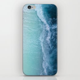 Turquoise Sea iPhone Skin