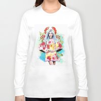 cancer Long Sleeve T-shirts featuring Cancer by Sara Eshak