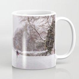 snow days in the park Coffee Mug