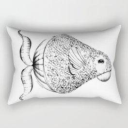 Fish (alias Piscis Imaginarius Magnificus) Rectangular Pillow