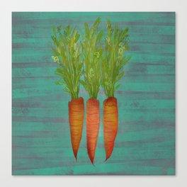Carrots Upright Canvas Print