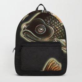 Black moor fish Backpack