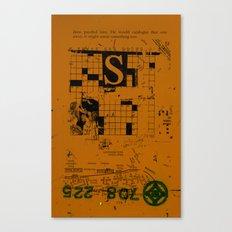 sedimenti 154 Canvas Print