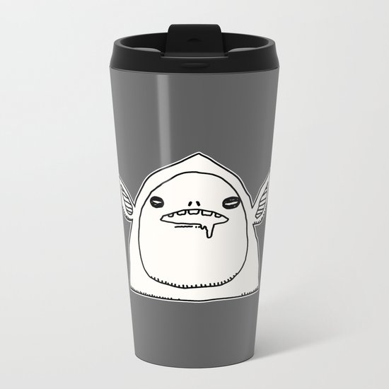 slobber Metal Travel Mug