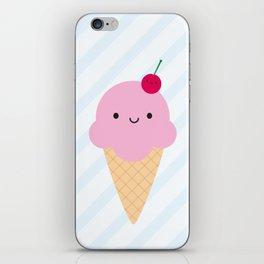 Kawaii Ice Cream Cone iPhone Skin
