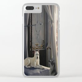 The Waiting Clear iPhone Case