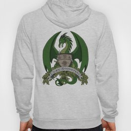 Clan Stonefire Green Dragon Crest Hoody