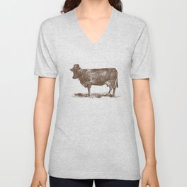 Cow Cow Nut #1 Unisex V-Neck