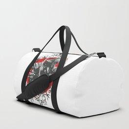 Black Samurai Duffle Bag