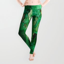 Abstract Magical Forest Leggings