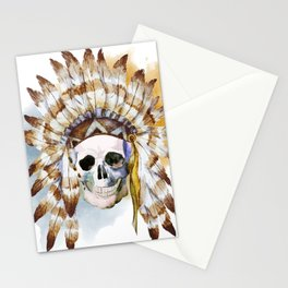 Skull 02 Stationery Cards