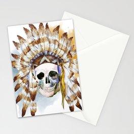 Skull 02 Stationery Cards
