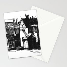 ARCHITECTURE PEN & INK DRAWING Stationery Cards