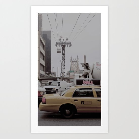 slow down, you move too fast... Art Print