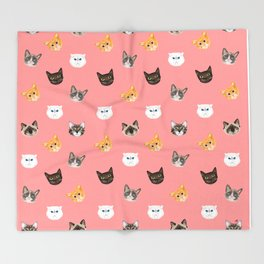CATS Throw Blanket