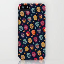 Masks Pattern iPhone Case
