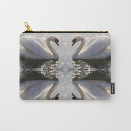 one swan a swimming Carry-All Pouch
