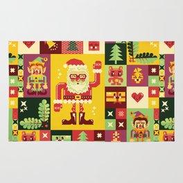 Christmas Geometric Pattern No. 1 Rug