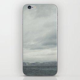 Grey seascape iPhone Skin