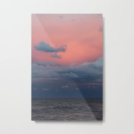 Superior Sunset Metal Print