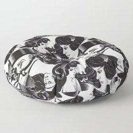 M. C. Escher - illusion Floor Pillow