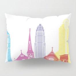 Charlotte skyline pop Pillow Sham