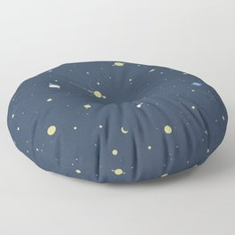 Starry Night Floor Pillow