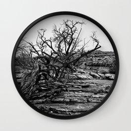 Kings Canyon Lightning Struck Tree Wall Clock