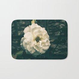 Vintage garden flower Bath Mat
