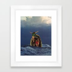 TUMULT Framed Art Print