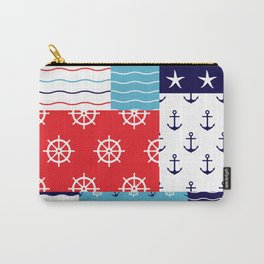 Beautiful Patch 10 (Nautical) Carry-All Pouch