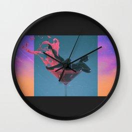 CosmoPolys Wall Clock