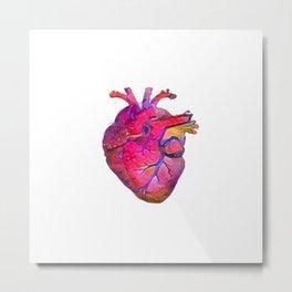 ALTERED Anatomical Heart Metal Print