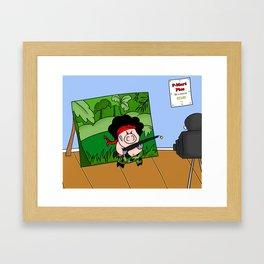 Hambo! Framed Art Print