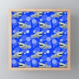 Jaws Framed Mini Art Print