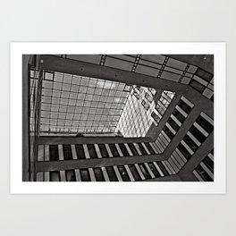 Modern Hamburg office building Art Print