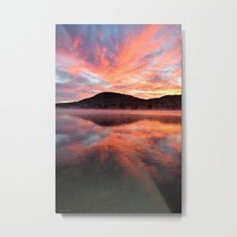Sunrise: Fire and Water Metal Print