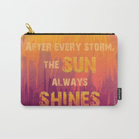 Abstract Golden Sunrise in Mountains Carry-All Pouch
