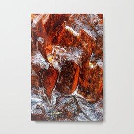 Icy Hot Metal Print