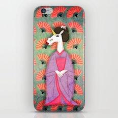 Unicorn Geisha iPhone & iPod Skin